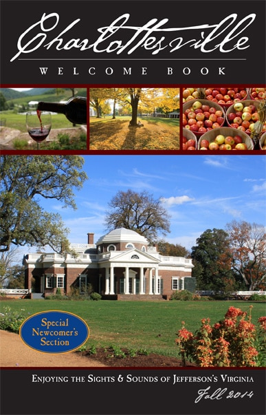 The Charlottesville Welcome Book